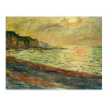 Monet Beach At Pourville Post Cards