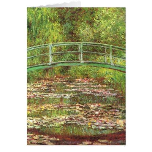 Monet Birthday Card