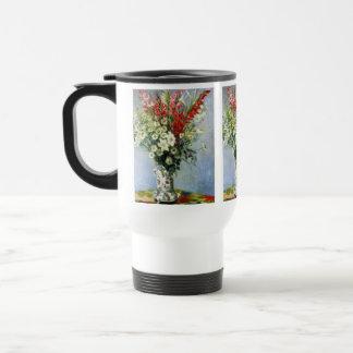 MONET Bouquet of Gladiolas No Spill Mug