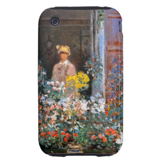 Monet Camille at Window Tough iPhone 3 Cases
