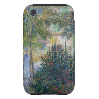 Monet Camille in Garden Tough iPhone 3 Covers