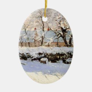 Monet Christmas Ornaments