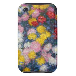 Monet - Chrysanthemums iPhone 3 Tough Cover