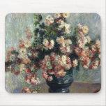 Monet Chrysanthemums Mousepad