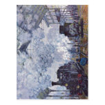 Monet, Claude Bahnhof Saint Lazare in Paris, Ankun Post Cards