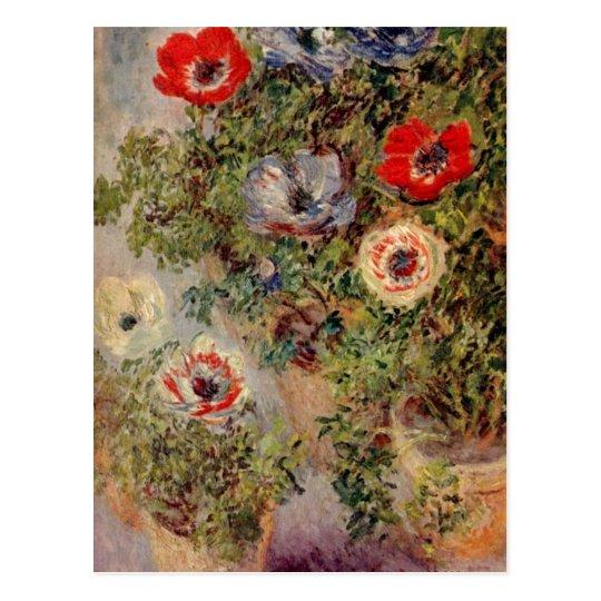 Monet, Claude Stilleben mit Anemonen um 1885 c.