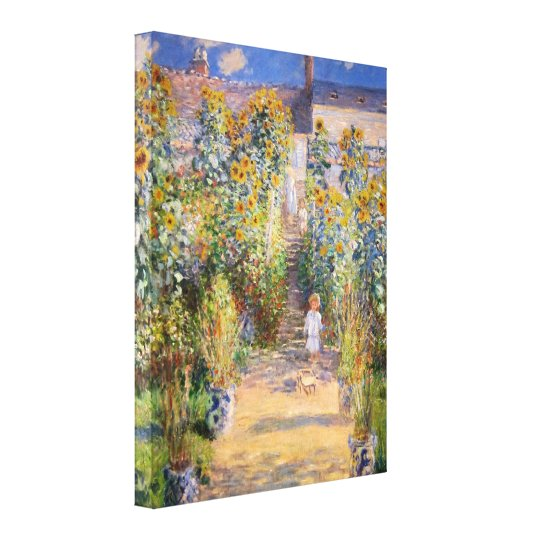 Monet Fine Art Canvas Print