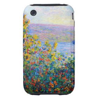 Monet - Flower Beds iPhone 3 Tough Covers