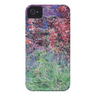 monet flowers vintage the-house-among-the-roses Case-Mate iPhone 4 cases