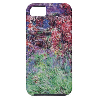 monet flowers vintage the-house-among-the-roses iPhone 5 covers