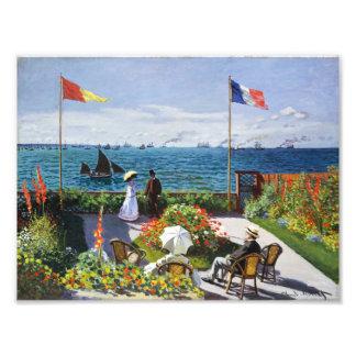 Monet Garden at Sainte Adresse Photo Print