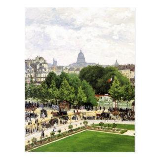 Monet Garden Of The Princess Postcard