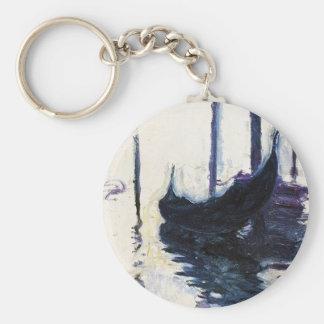 Monet Gondola In Venice Key Ring
