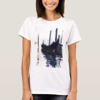 Monet Gondola In Venice T-Shirt