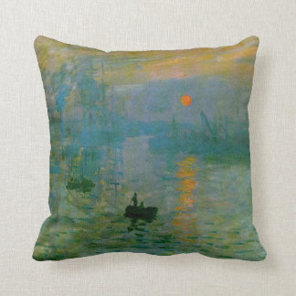 Monet Impression, Sunrise Fine Art MoJo Pillow