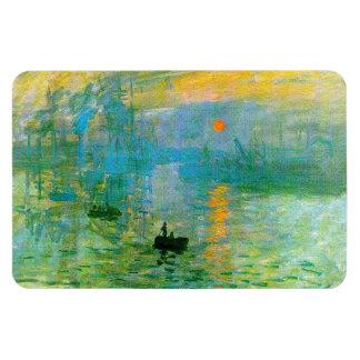 Monet Impressionism Sunrise Magnet