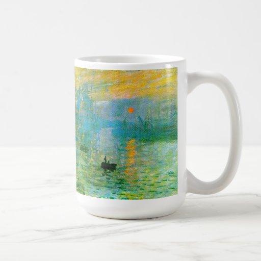 Monet Impressionism Sunrise Mug