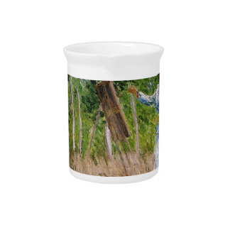 Monet In The Woods Pitcher