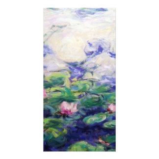 Monet Inspired Water Lilies Photo Cards