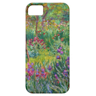 Monet Iris Garden at Giverny iPhone Case iPhone 5 Case