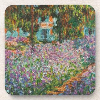 Monet Irises Coasters