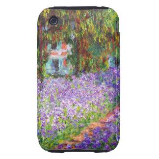 Monet - Irises in Monet's Garden Tough iPhone 3 Case
