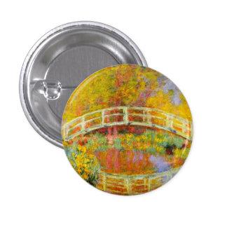 Monet Japanese Bridge Button