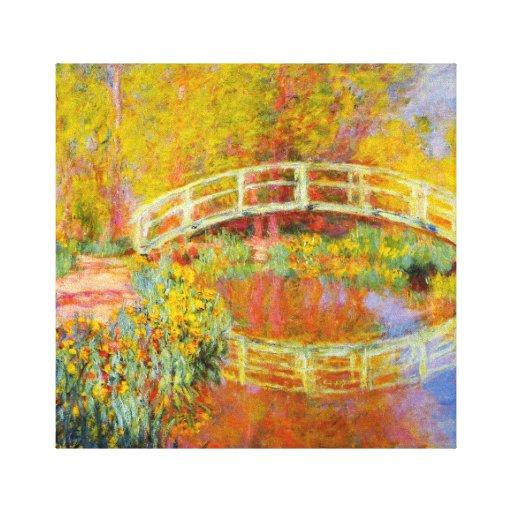 Monet Japanese Bridge Canvas Print