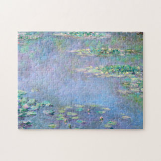 Monet Les Nympheas Water Lilies Fine Art Jigsaw Puzzle