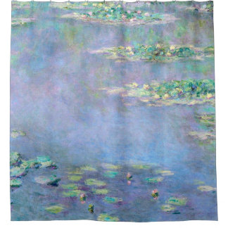 Monet Les Nympheas Water Lilies Fine Art Shower Curtain
