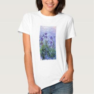 Monet Lilac Irises T-shirt