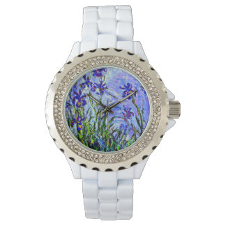 Monet - Lilac Irises Watch