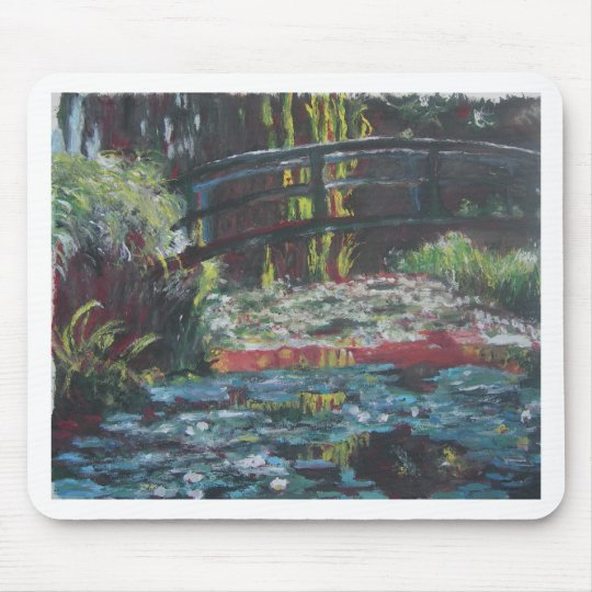 Monet Lily Pond Mouse Pad