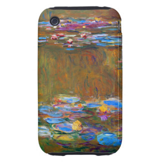 Monet - Lily Pond Tough iPhone 3 Cover