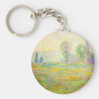 Monet Meadows at Giverny Key Chain