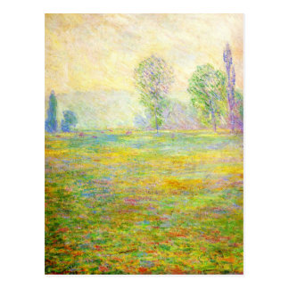 Monet Meadows at Giverny Postcard