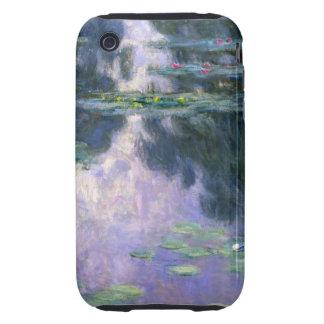 Monet Nympheas 1907 Tough iPhone 3 Covers