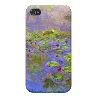 Monet - Nympheas 1914 Case For iPhone 4