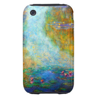 Monet Nympheas iPhone 3 Tough Covers