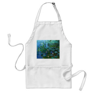 Monet Nympheas Water Lilies Apron