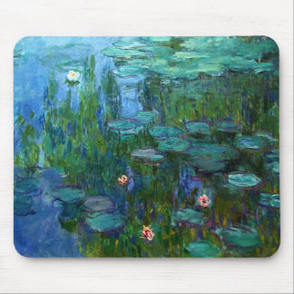 Monet Nympheas Water Lilies Mouse Pad