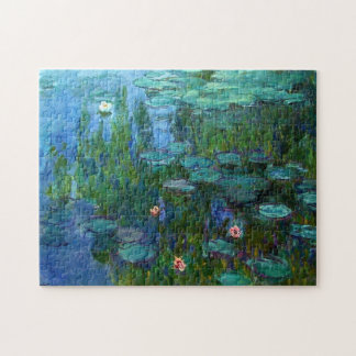 Monet Nympheas Water Lilies Puzzle