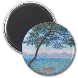 Monet Painting 6 Cm Round Magnet