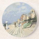 Monet Painting Beverage Coasters