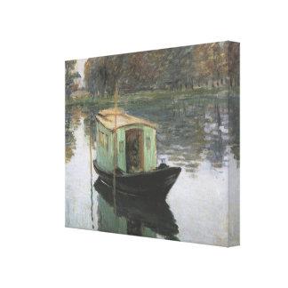 Monet Painting Canvas Prints