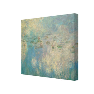 Monet Painting Canvas Print