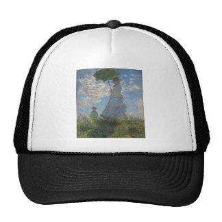 Monet Painting Hats