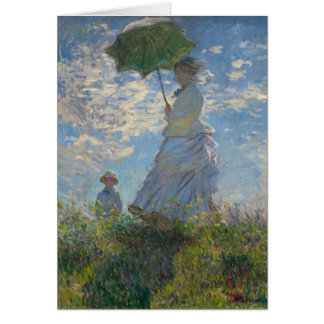 Monet Painting Greeting Cards