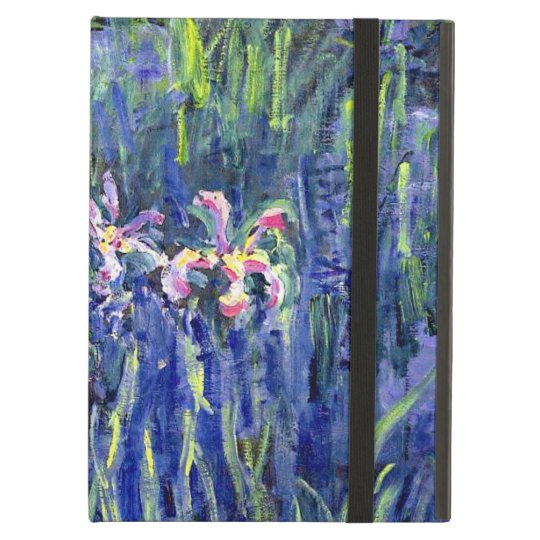 Monet Painting - Irises 2 iPad Air Cover