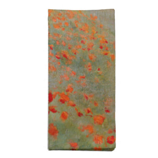 Monet Poppies Napkins